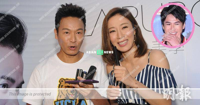 Tavia Yeung denies she is hell culinary goddess; Roger Kwok feels like puking