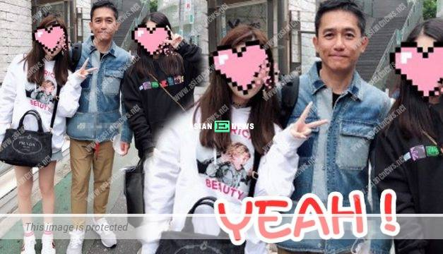 Tony Leung agrees to take photo with his fans in Japan