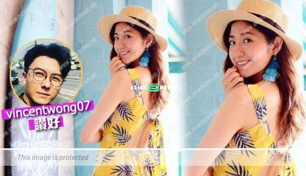 Yoyo Chen goes for holidays by herself? Vincent Wong likes her photo