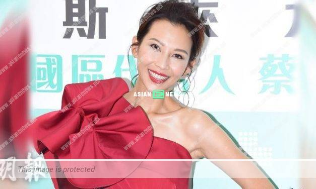 """Ada Choi uses """"burning passion"""" to describe Dubai trip with her husband"""