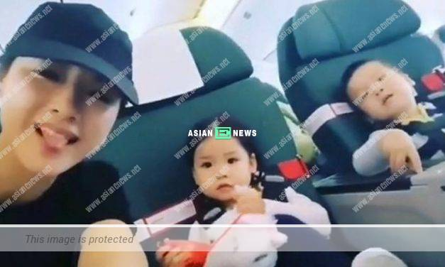 Bravo to Aimee Chan taking her children back to Canada by herself