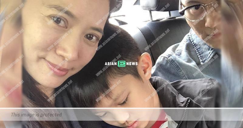 Anita Yuen feels unhappy when Julian Cheung appears in the photo