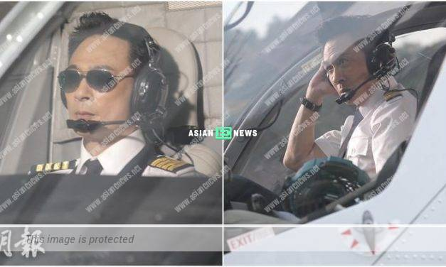Francis Ng acts as a pilot in an advertisement: The uniform is similar to my pyjamas