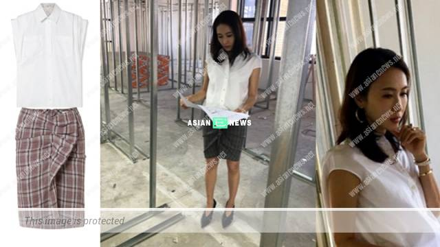 Gigi Lai frowns when looking at her new shop