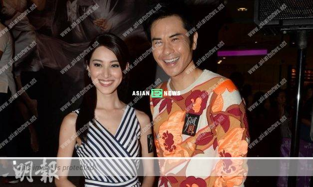 Kevin Cheng dismisses the rumours of Grace Chan being expecting