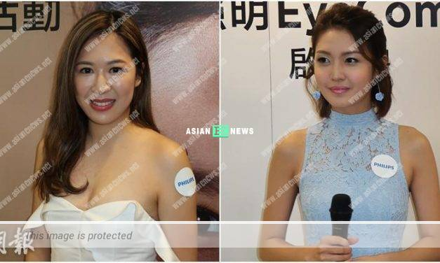 Jennifer Shum promotes eye care protection; Toby Chan suffers from temporarily blind vision