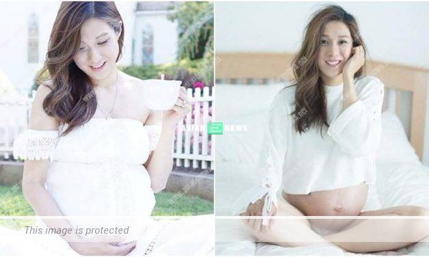 "Expecting Linda Chung looks forward to see her ""little lover"""