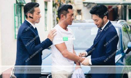 Kevin Cheng films movie with Louis Koo: I must not cause NG