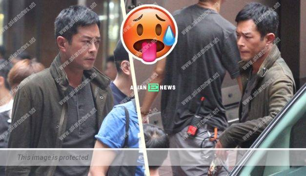 Louis Koo does not perspire in his thick clothes during summer