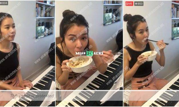 Louisa Mak shares live broadcast of herself playing piano again