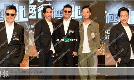 Andy Lau is mad at Michael Mui? He said he is a nosey man