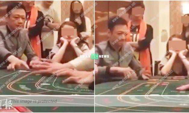 Winning or losing? Michael Tao gambles at a casino in Macau