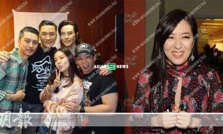 Kevin Cheng's wedding? Kenneth Ma and Natalie Tong avoid the media