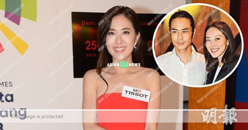 Double happiness for Kevin Cheng? Natalie Tong dares not ask