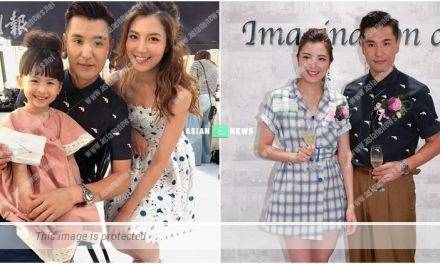 "Ruco Chan and Phoebe Sin show their ""family"" photo"