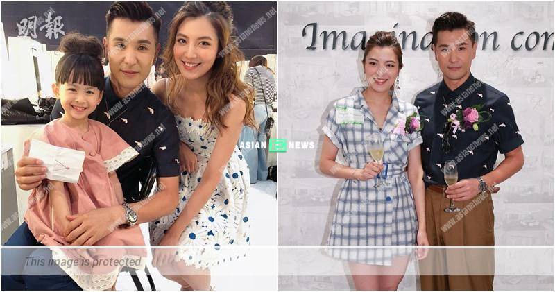 """Ruco Chan and Phoebe Sin show their """"family"""" photo"""