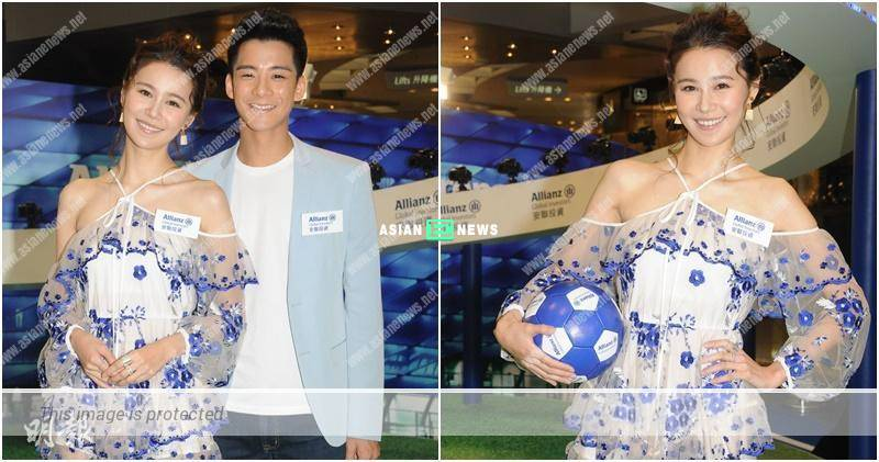 Priscilla Wong continues to watch world cup aired by ViuTV