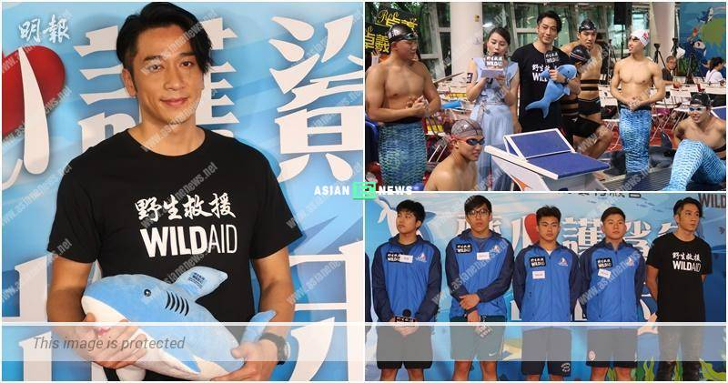 Ron Ng urges everyone to stop eating shark fin