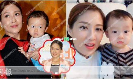 Sharon Chan cries and ruins her make-up upon thinking of her son