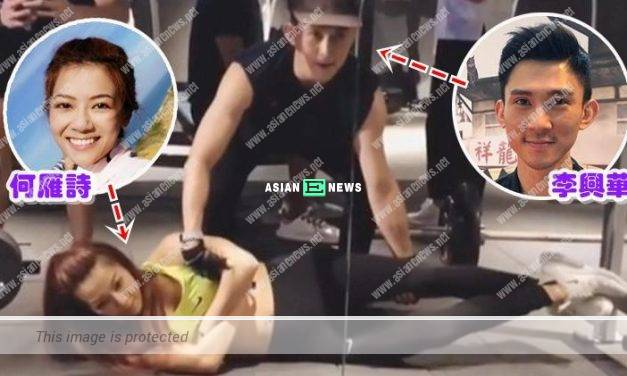 "Fred Cheng is excluded? Stephanie Ho transforms into a ""dumbbell"""