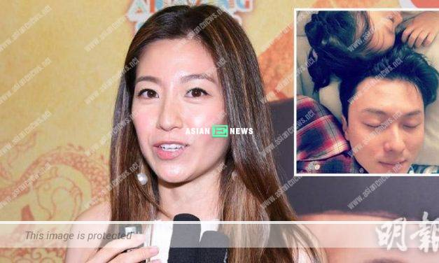 Yoyo Chen becomes dark after returning from Japan with her daughter