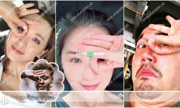 Charlene Choi, Alice Chan and Tony Hung try out Dele Alli Challenge