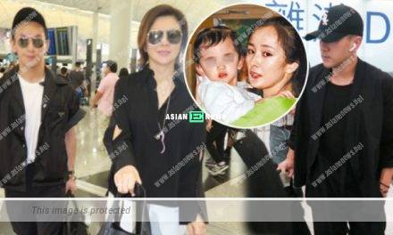 Many celebrities in Hong Kong airport? Hawick Lau and Andy Hui appear