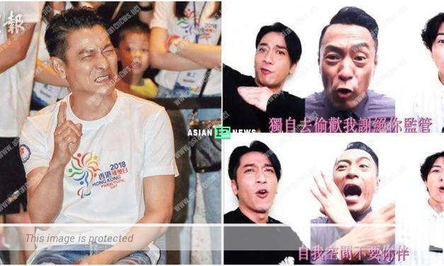 Andy Lau's concert tickets? Ron Ng, BabyJohn and Philip Keung sing and dance