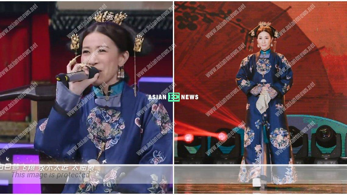 Charmaine Sheh's singing wins applauds from the audiences