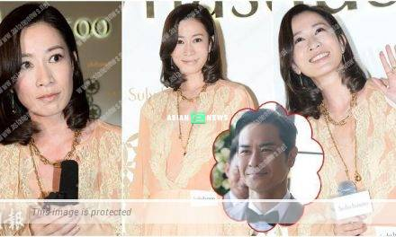 Charmaine Sheh suffers from skin allergy? She congratulates Kevin Cheng