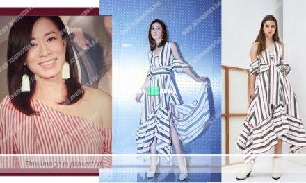Charmaine Sheh shows her elegant fashion sense
