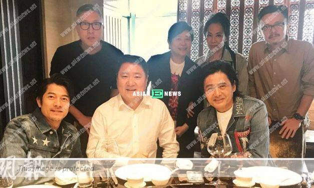 Aaron Kwok shares his daughter's daily life with Chow Yun Fat