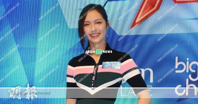 Crystal Fung has spots on her face after filming new drama