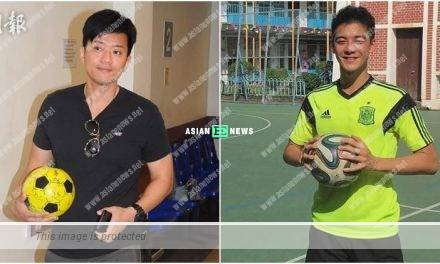Dickson Yu has left ICU? A man gives a ball with encouraging words for cheering