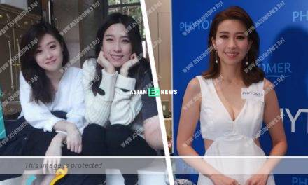 Elaine Yiu has a beautiful sister: She is unused to the stares in the public