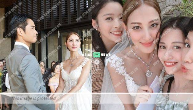 Grace Chan's chest size increases during her wedding