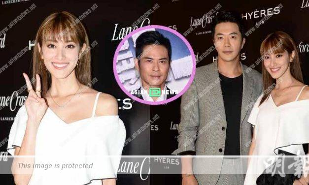 Grace Chan buys ticket to support Kevin Cheng's new film