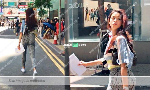 Ms Hong Kong, Juliette Louie violates the traffic rule and ruins the image