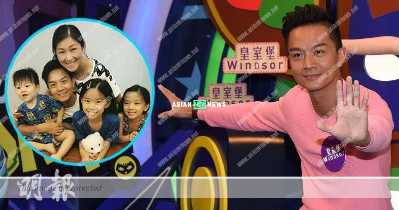 Jack Wu acts as a villain to play games with his children