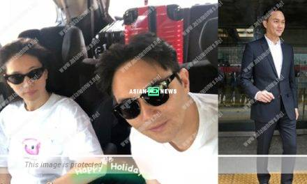 Julian Cheung and Anita Yuen go for holidays without their son