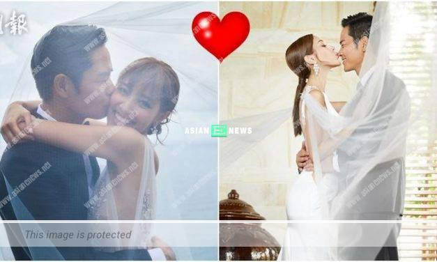 Kevin Cheng and Grace Chan have their bridal photos taken in Bali