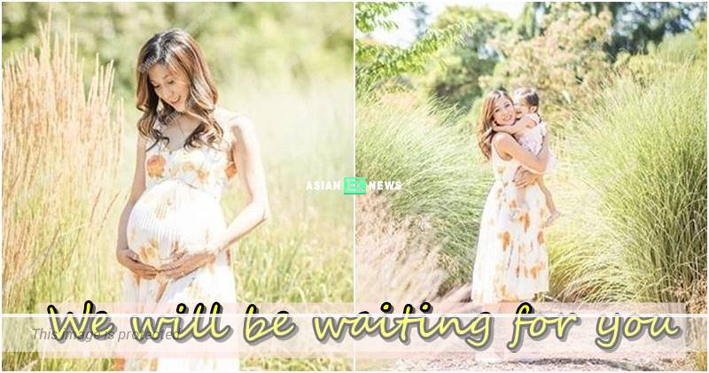 Linda Chung's baby son has not arrive? She shows beautiful photos