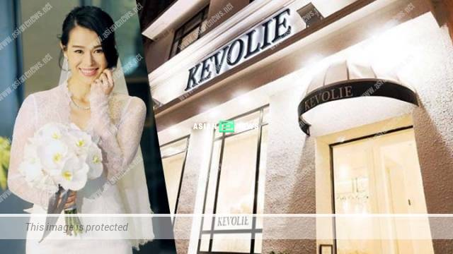 Myolie Wu withdraws from her bridal boutique business due to family commitment