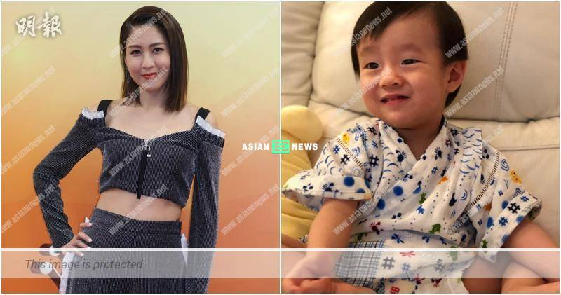 Sharon Chan's son speaks alien language and hopes to have another baby