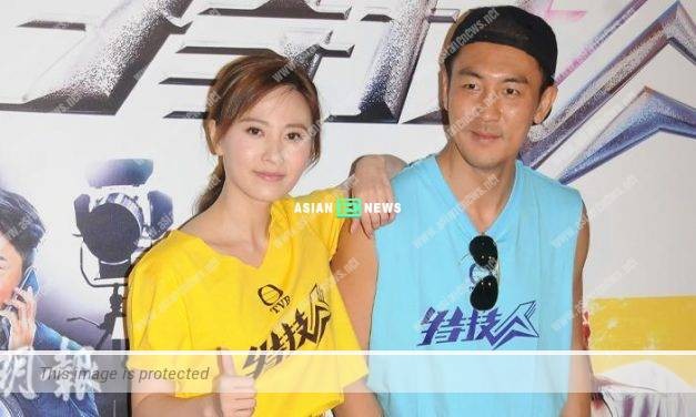 Shaun Tam dares not look at Rebecca Zhu who is dressed up sexily