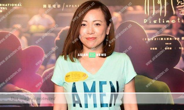 Sheren Tang shoots ViuTV new series and loves TVB very much