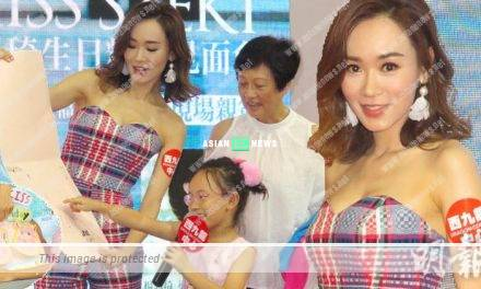 "Shirley Yeung becomes a ""pig"" to her 6 years old daughter"