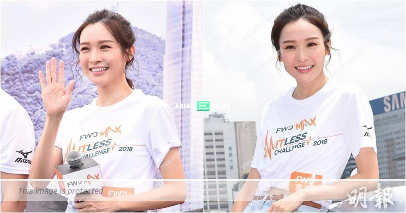 Ali Lee signs a long contract with TVB: Doing my job well is most important