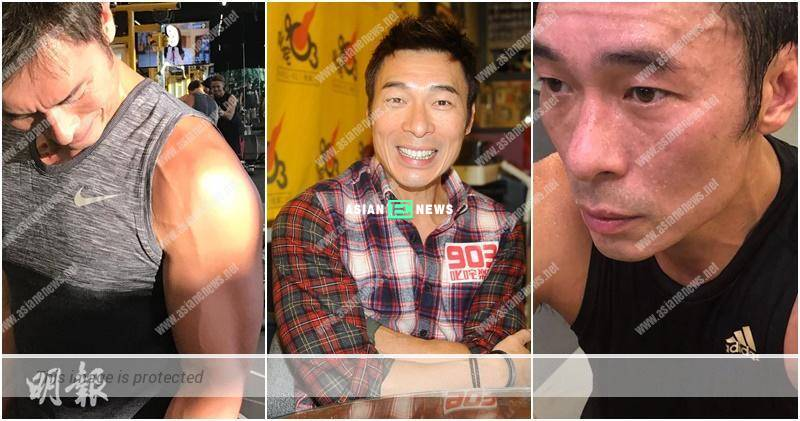 Training with Sammi Cheng in gym? Andy Hui wants to look bigger