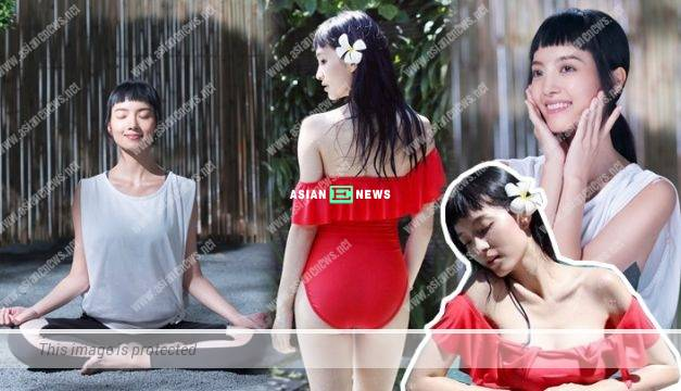 28 years old Anjaylia Chan becomes active after married: I love outdoor yoga